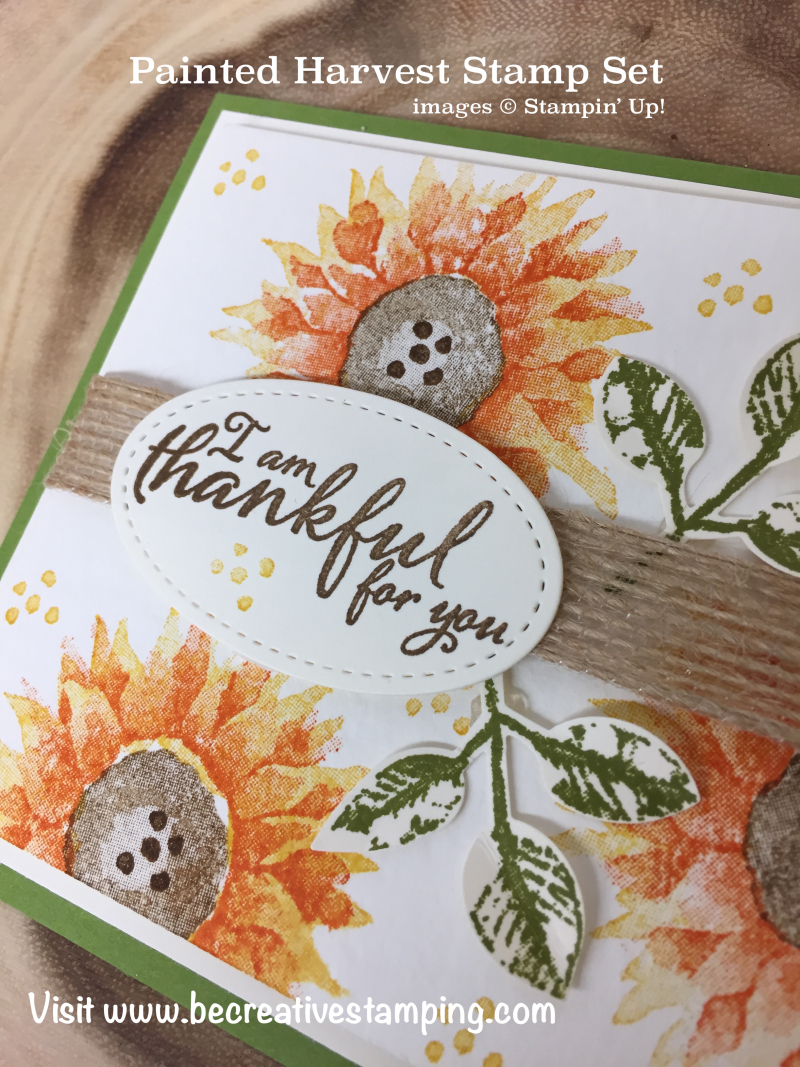 Painted Harvest Stamp Set 4