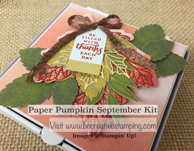 Paper Pumpkin September Kit 2