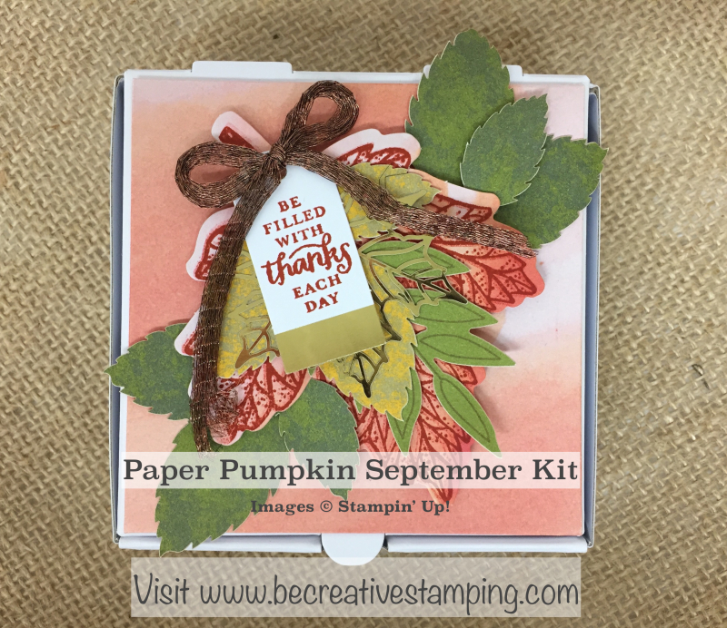 Paper Pumpking September Kit 1