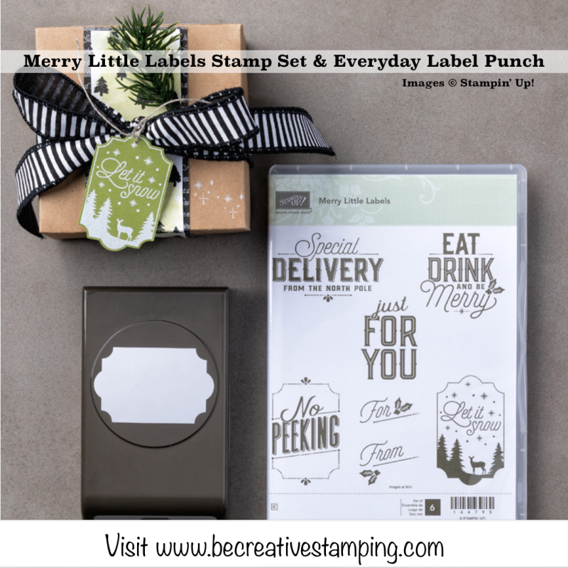 Merry Little Labels Bundle