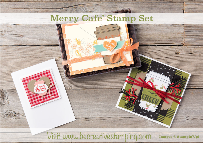 Merry Cafe' Stamp Set