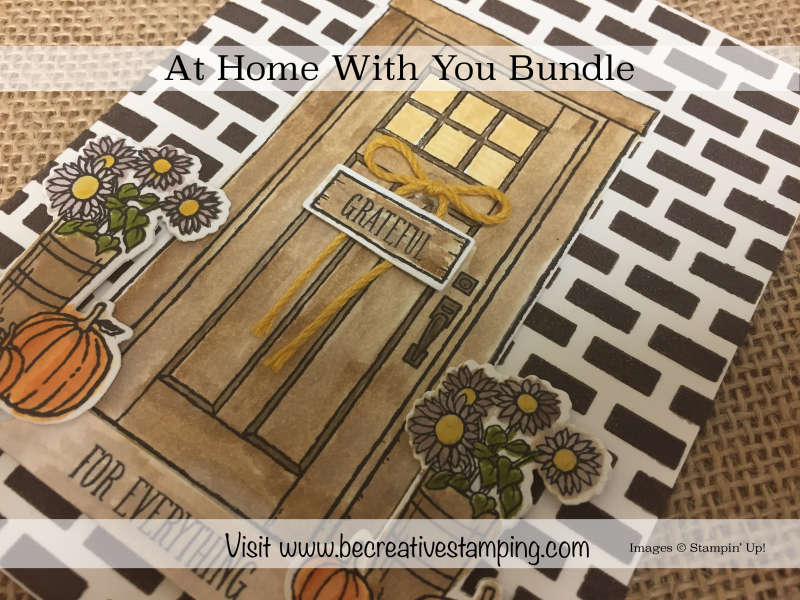 At Home With You Stamp Set 1