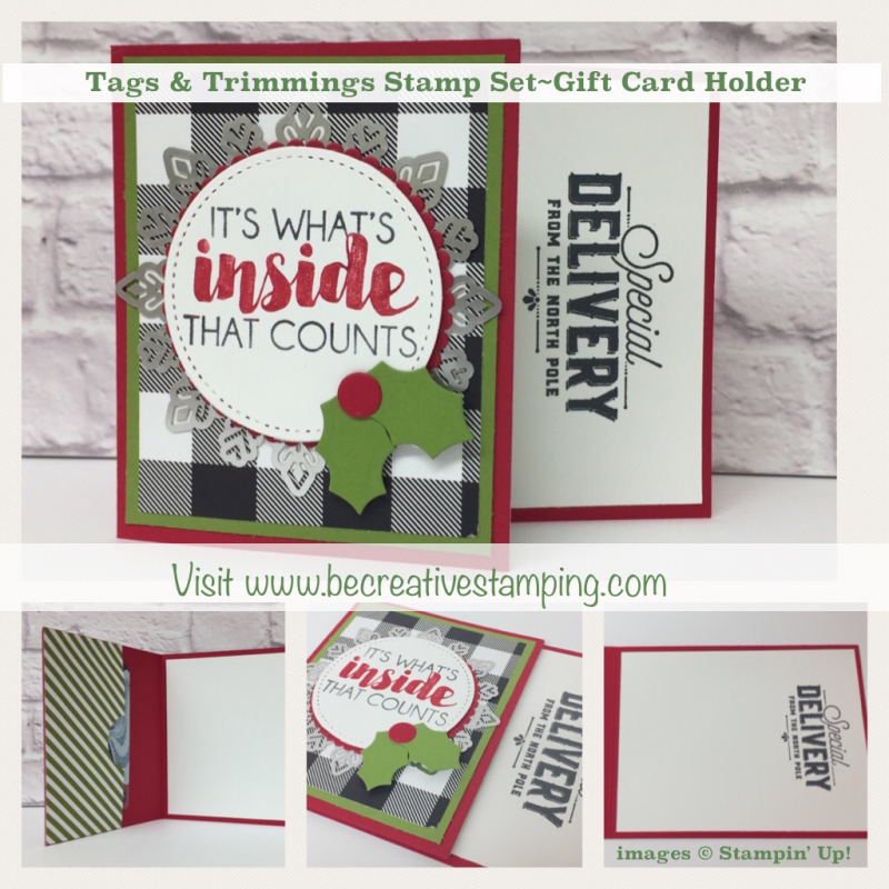 Tags & Trimmings Bundle Gift Card Holder