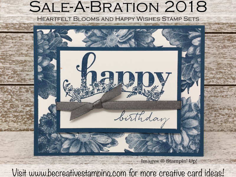 Heartfelt Blooms and Happy Wishes Stamp Sets
