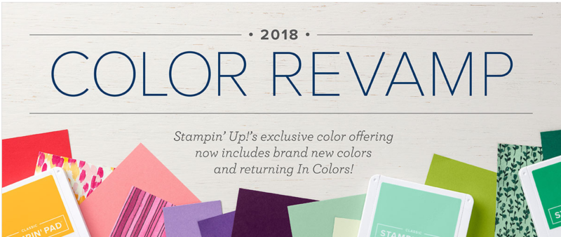 2018 Color Revamp