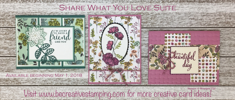 Share What You Love Suite (3 cards)