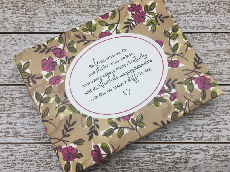 Share What You Love Embellishment Box