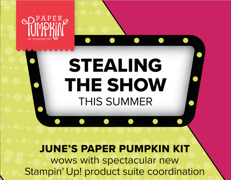 Paper Pumpkin June Kit 2018