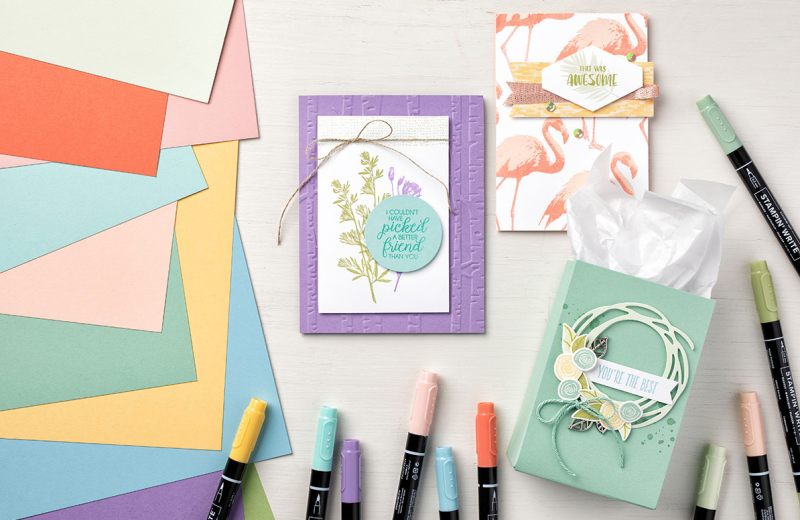 Stampin' Up Subtles Collection