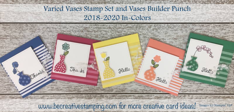 Varied Vases Stamp Set & Vases Builder Punch
