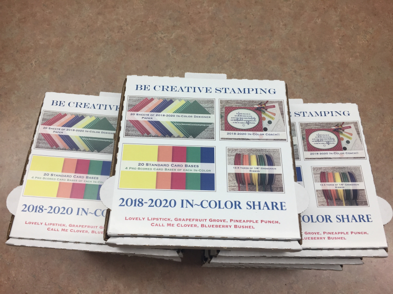 2018-2020 In Color Product Shares 2