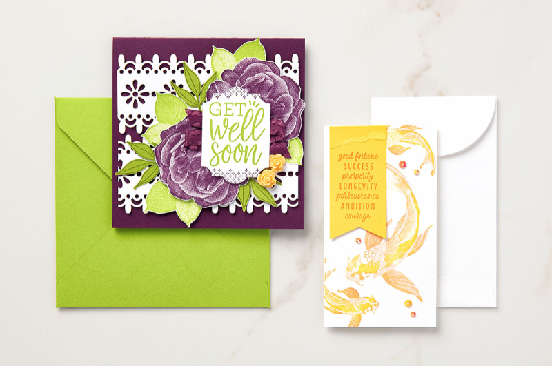 Healing Hugs and All Good Things Stamp Sets