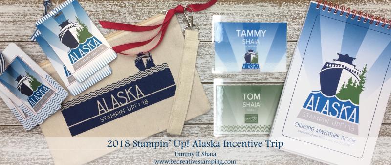 Stampin' Up! Alaska Incentive Trip 2018