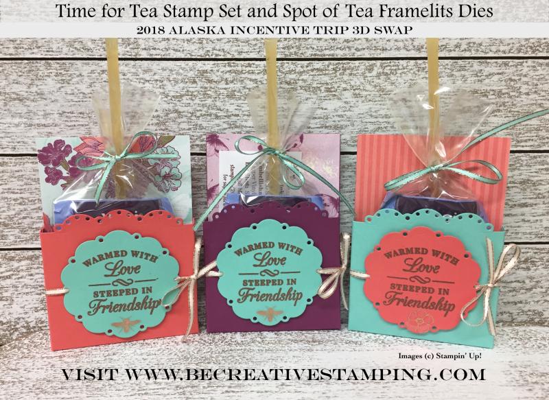 Tea Room Suite-Tea Bag Treat Holder