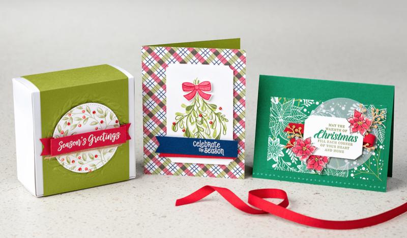 Mistletoe Season Stamp Set