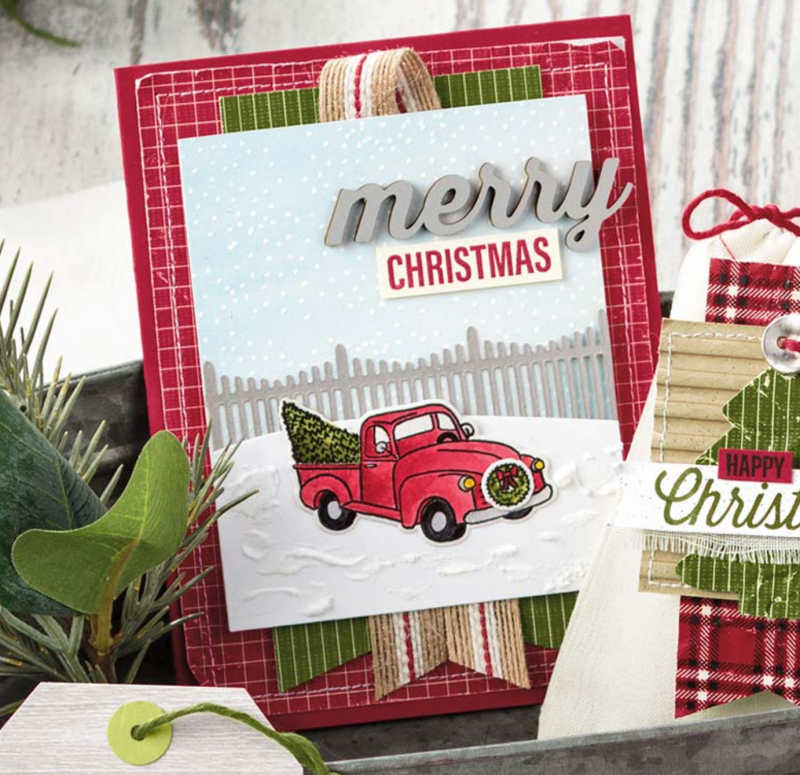 Stampin' Up Festive Farmhouse Elements