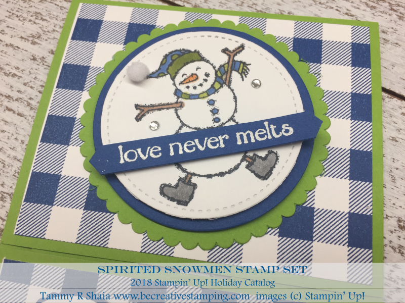 Spirited Snowmen Stamp Set 4