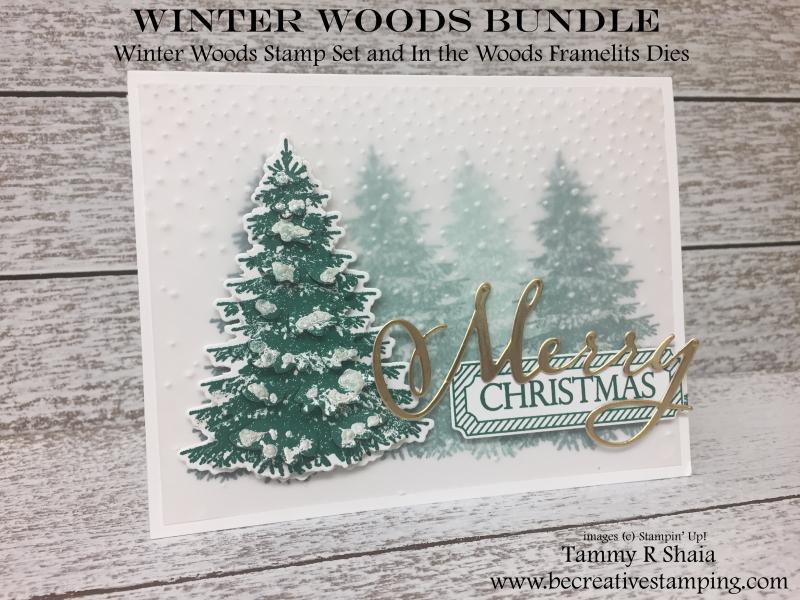 Winter Woods Stamp Set