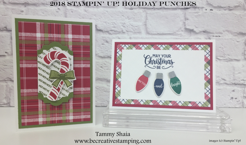 2018 Stampin' Up1 Holiday Punches 2