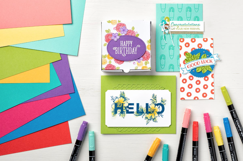 Stampin' Up! Brights Family
