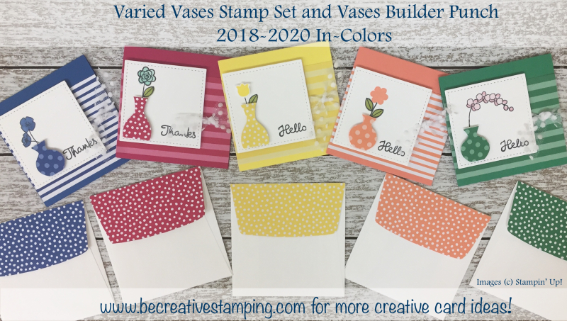 Varied Vases Stamp Set & Vases Builder Punch 2