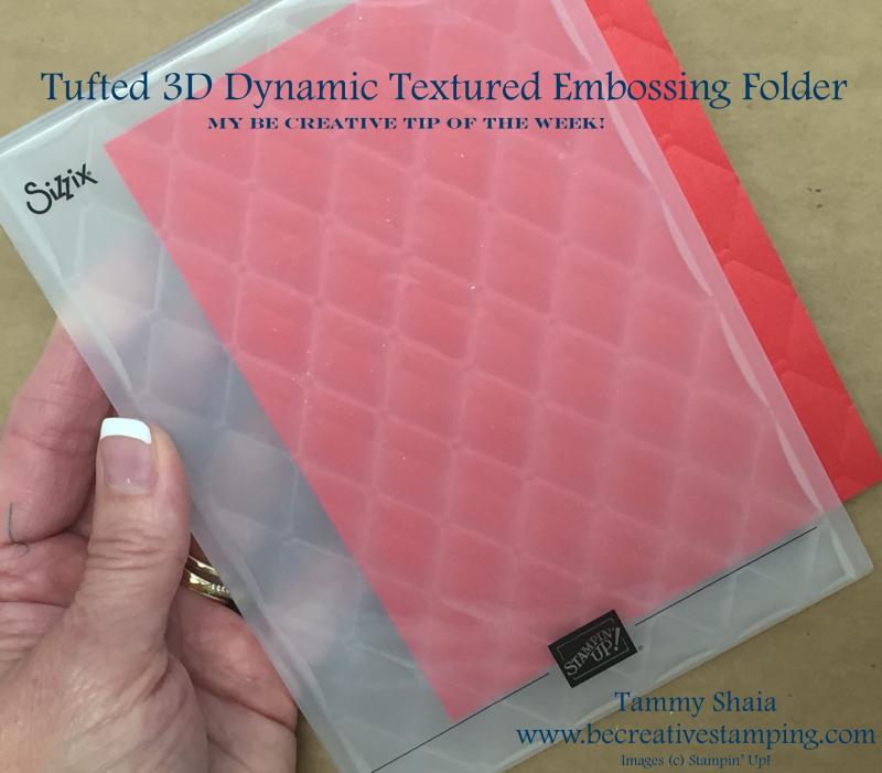 Tufted Dynamic Embossing Folder