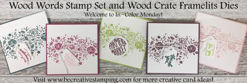 Wood Words Stamp Set
