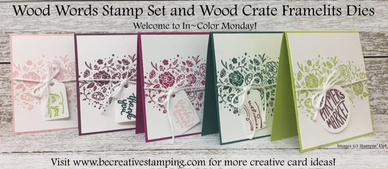 Wood Words Stamp Set 2