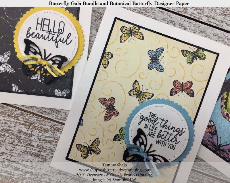 Butterfly Gala Bundle and Botanical Butterfly DSP 3
