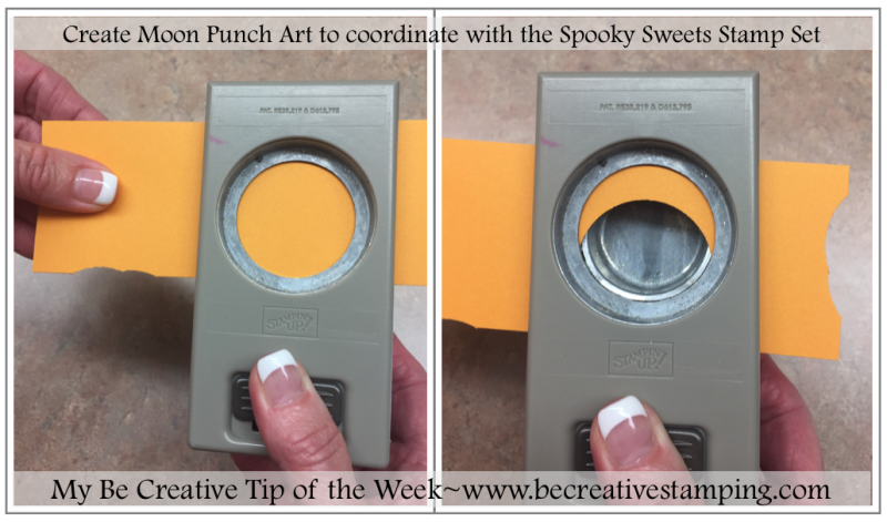 Moon Punch Art Stampin' Up!