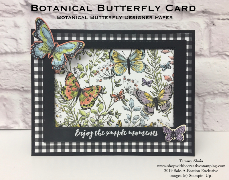 Botanica Butterfly Card