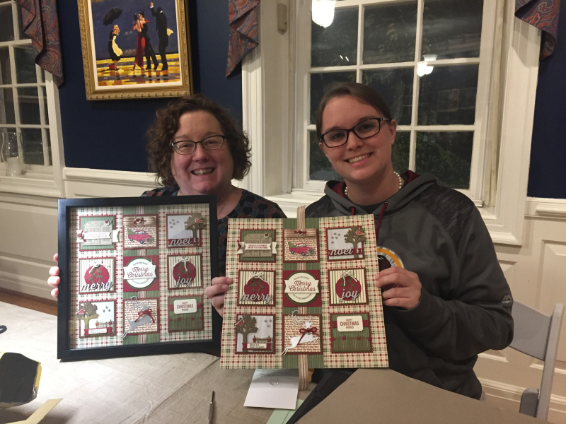 Festive Farmhouse Sampler & Card Class 8