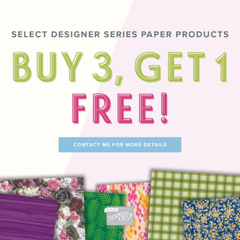 Stampin' Up! Designer Paper Sale (2)