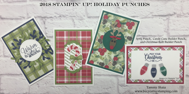 2018 Stampin' Up! Holiday Punches