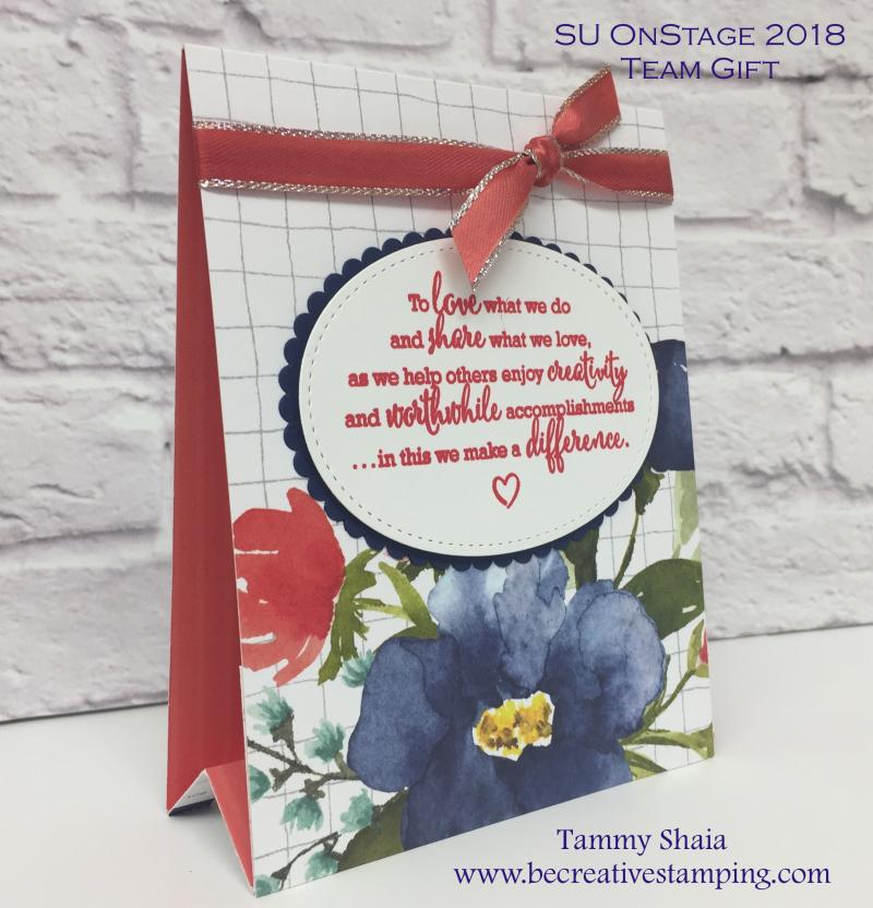 Team Gift Calendar Easel