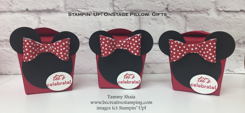 OnStage Pillow Gifts 2