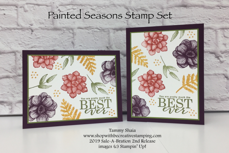 Painted Seasons Stamp Set