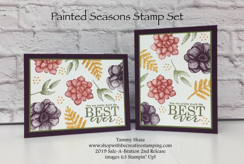 Painted Seasons Stamp Set
