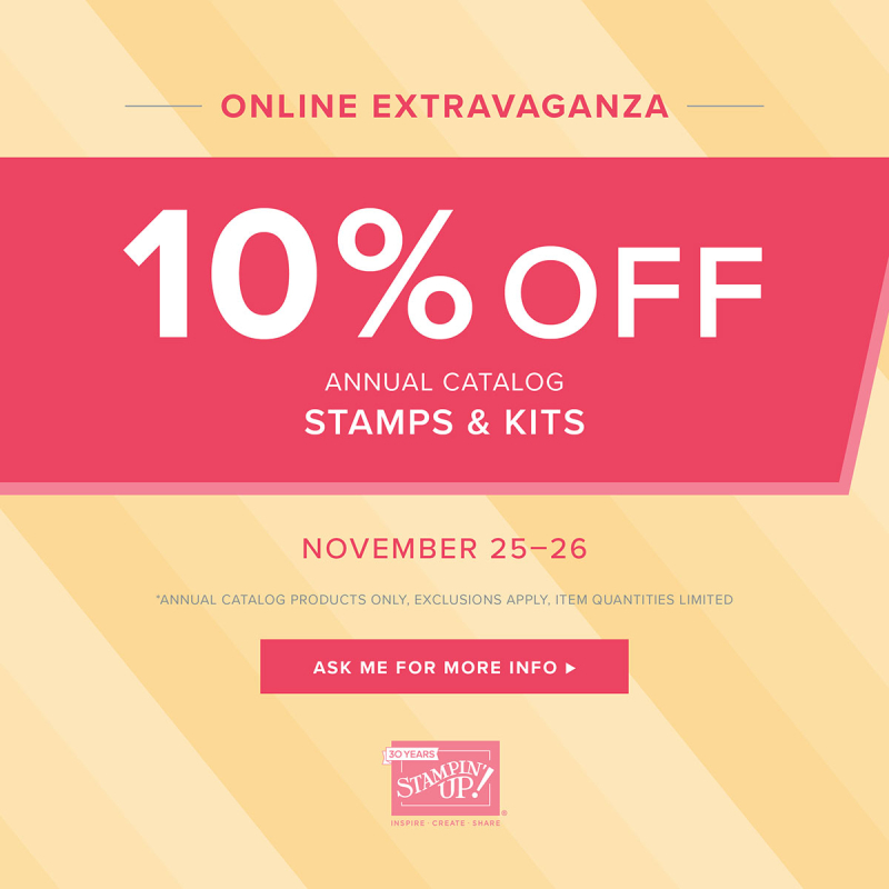 Stamps & Kits Sale (Nov. 25-26)