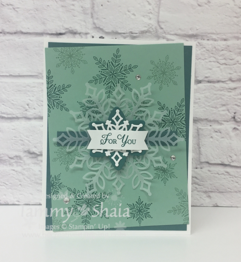Snow is Glistening Stamp Set 4