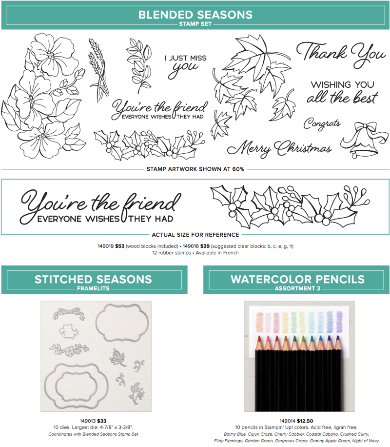 Color Your Seasons Bundle