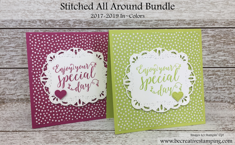 2017-2019 In colors and Stitched All Around Bundle