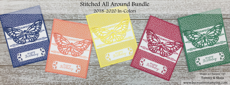 Stitched All Around Bundle and 2018-2020 In Colors