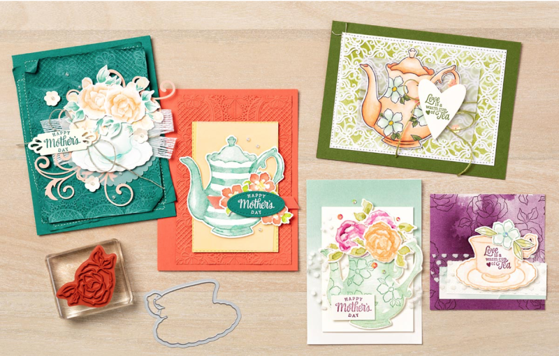 Tea Together Stamp Set