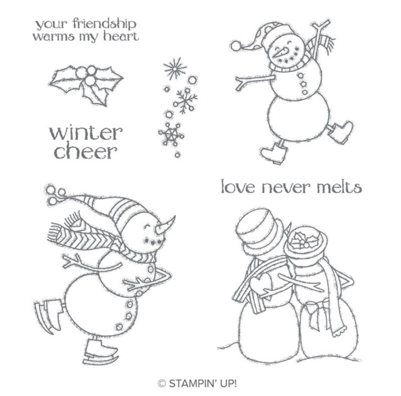 Spirited Snowmen Stamp Set