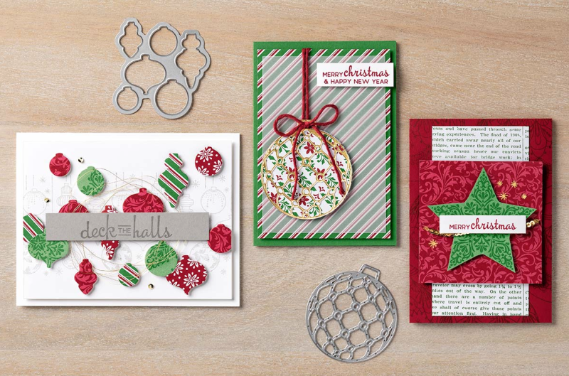 Beautiful Baubles Stamp Set