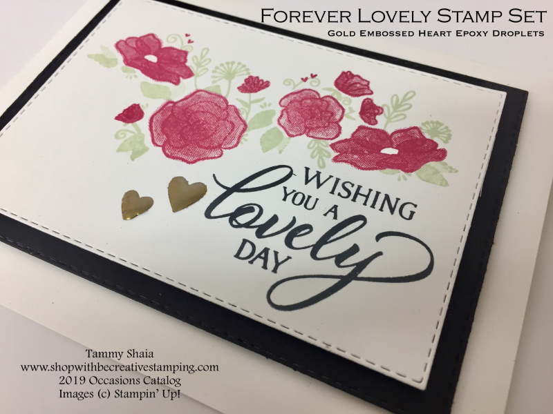 Forever Lovely Card (close-up)