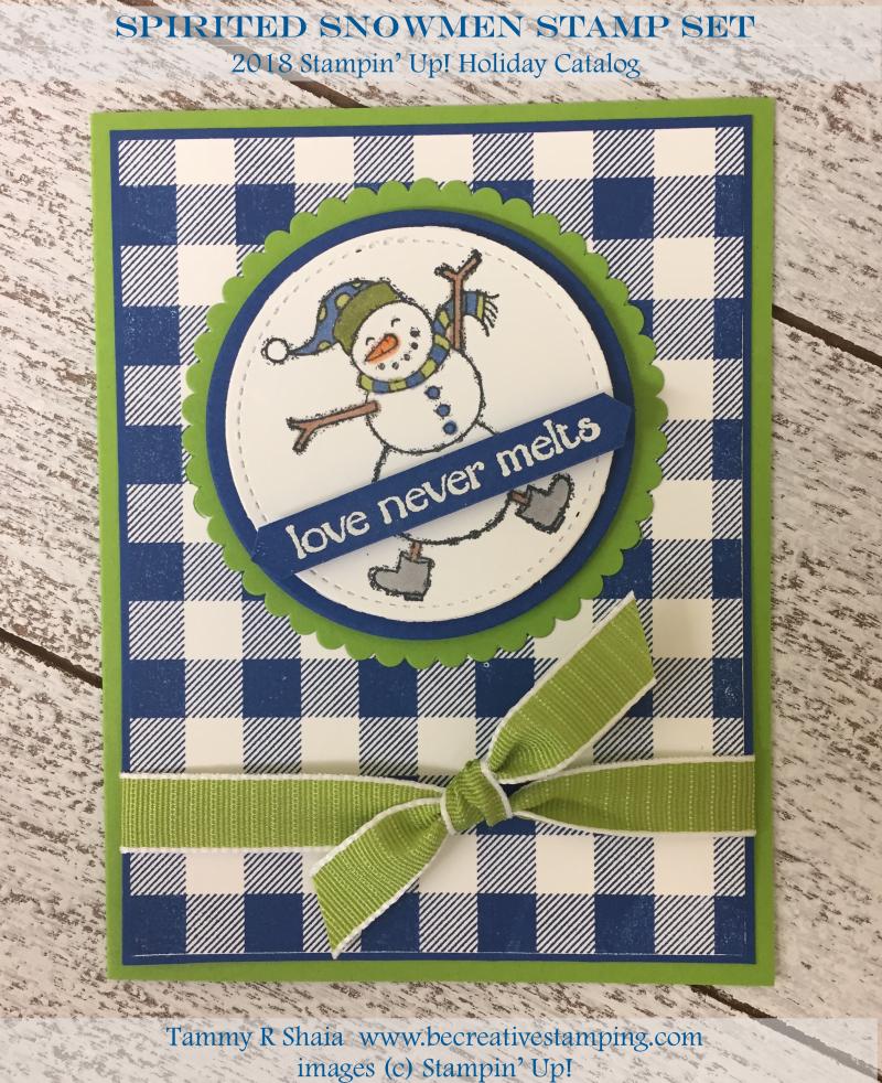 Spirited Snowmen Stamp Set 5