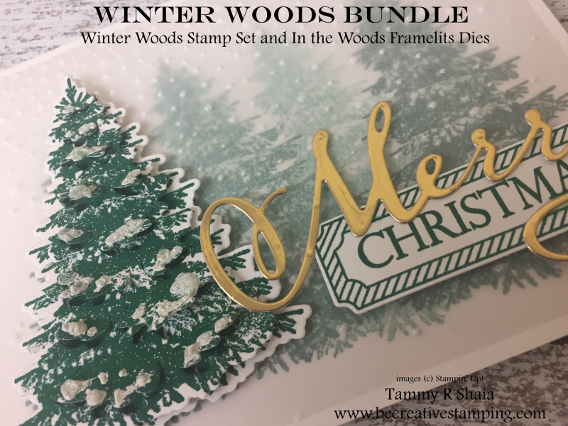 Winter Woods Stamp Set 2