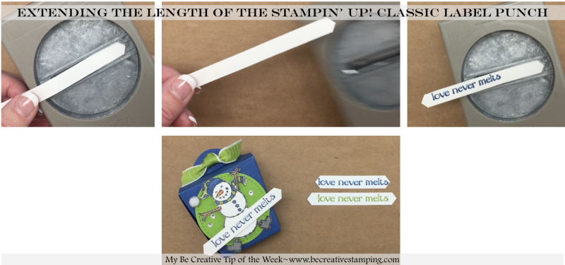 Stampin' Up! Classic Label Punch